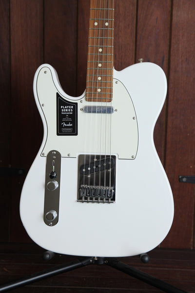 Fender Player Series Telecaster White Electric Guitar Left Handed