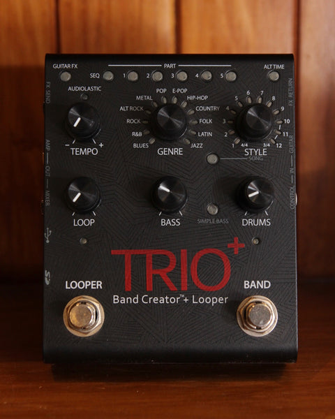 DigiTech Trio+ Band Creator Plus Looper Pedal Pre-Owned