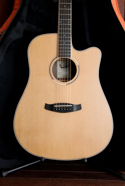 Tanglewood Discovery Exotic Hawaiian Rainwood Dreadnought Acoustic-Electric Guitar