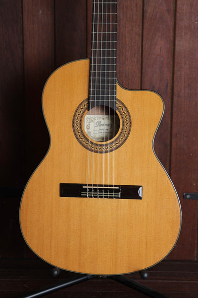 Ibanez GA5TCE Thinline Classical Acoustic-Electric Guitar Pre-Owned