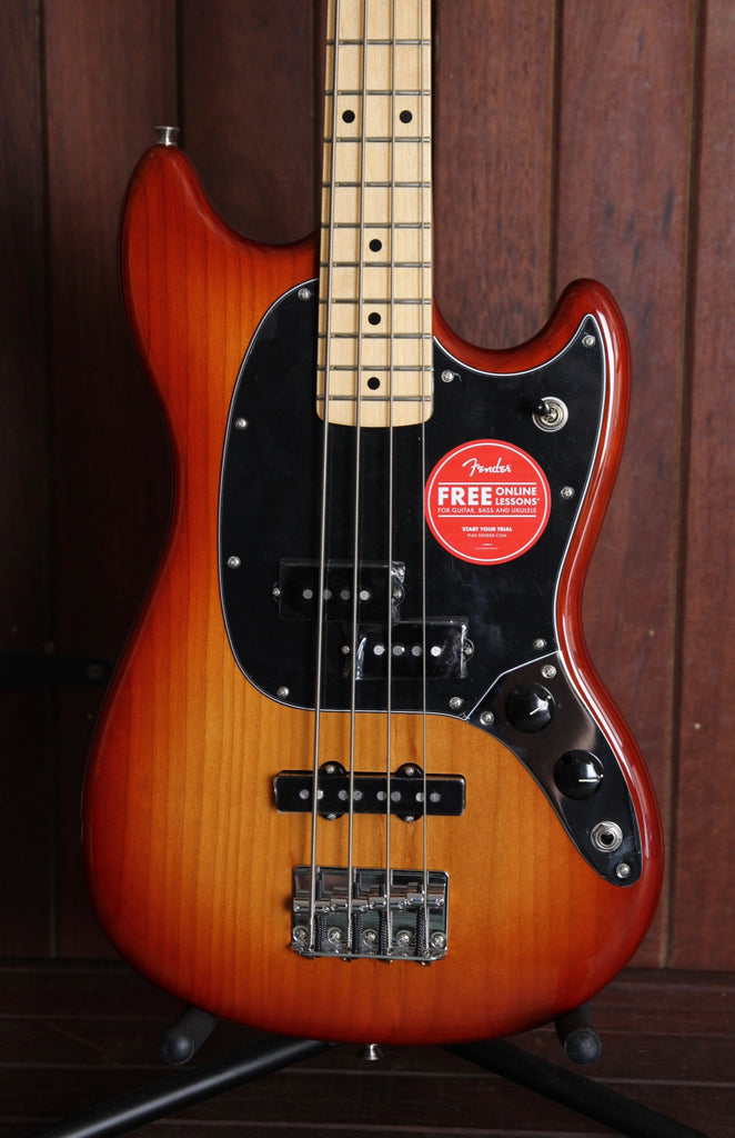 Fender Player Series Mustang Bass PJ Sienna Sunburst