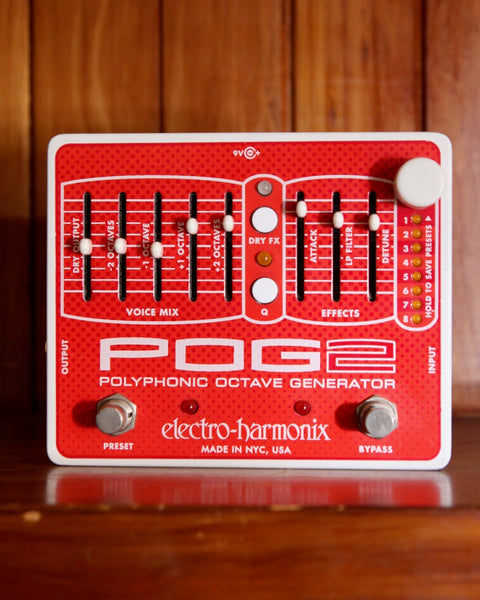 Electro-Harmonix POG2 Octave Pedal Pre-Owned