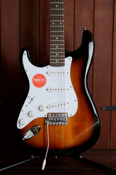 Squier Affinity Stratocaster Left-Handed Brown Sunburst Guitar