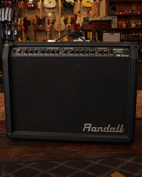 Randall RG100SC G2 2x12 Stereo Guitar Combo Amplifier Pre-Owned