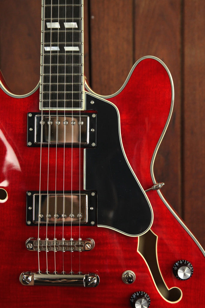 Eastman T486-RD Semi-Hollow Electric Guitar Red