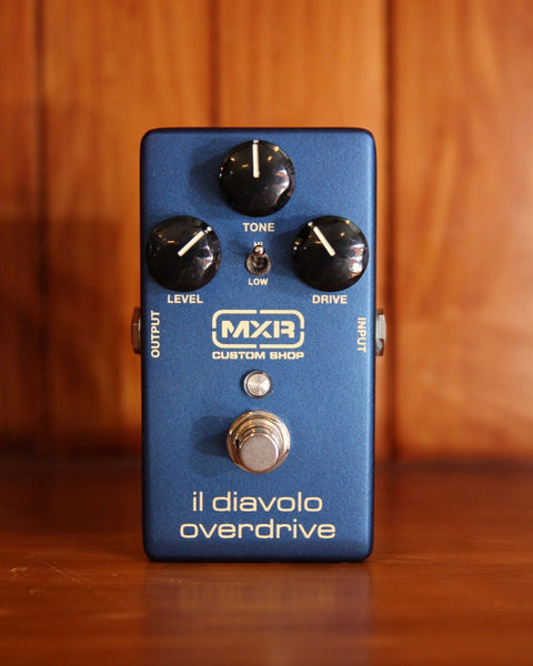 MXR Custom Shop Il Diavolo Overdrive Pedal Pre-Owned