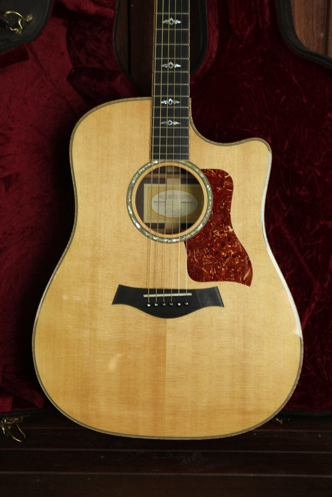 Taylor 810ce Fall Limited Madagascar Rosewood Dreadnought 2006 Pre-Owned - The Rock Inn - 1
