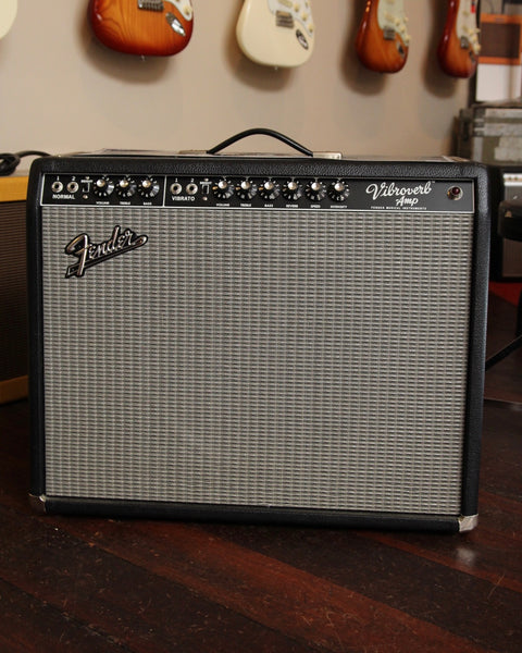 Fender Custom Shop '64 Vibroverb Cesar Diaz SRV Mod Handwired Combo Pre-Owned