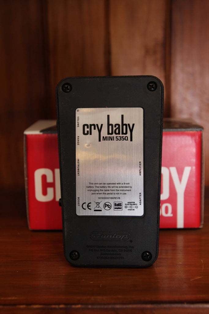 Dunlop Crybaby Mini 535Q Wah Pedal