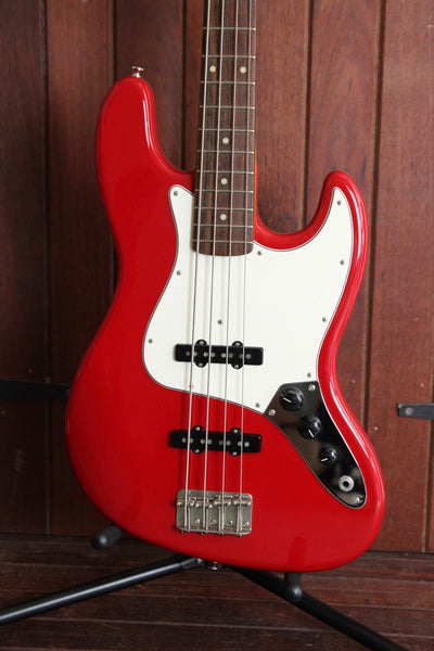 Edwards Jazz Bass in Fiesta Red Made in Japan Pre-Owned