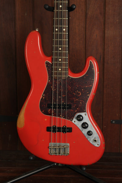 *NEW ARRIVAL* Fender Fender Road Worn '60s Jazz Bass Fiesta Red Pre-Owned