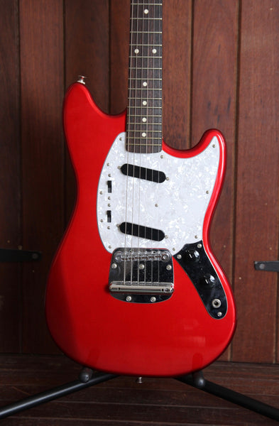 Fujigen FGN J-Standard Candy Apple Red Mustang Electric Guitar Pre-Owned