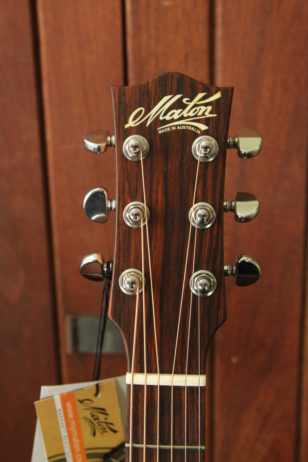 Maton M808C Cutaway Sapele Acoustic-Electric Guitar