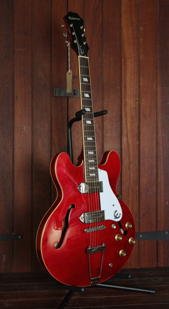 Epiphone Casino Hollowbody Electric Guitar Cherry - The Rock Inn