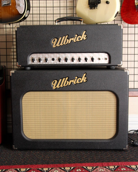 Ulbrick 30W Verbovibe Head+Cab Handwired with 2x Vintage Alnico Speakers Pre-Owned