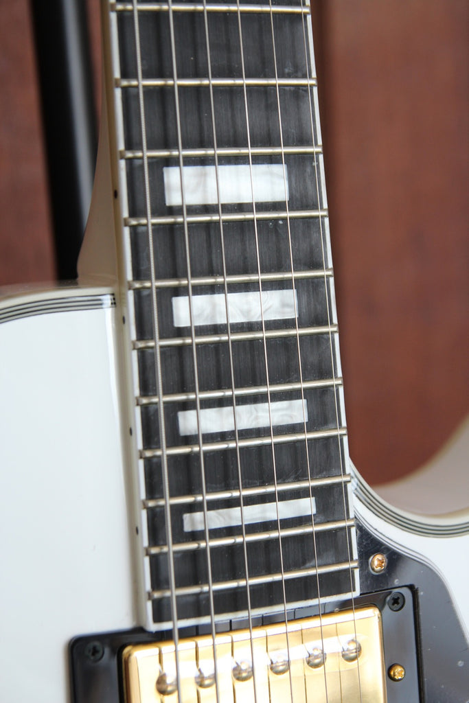 Epiphone Les Paul Custom White Electric Guitar