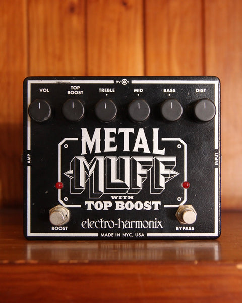 Electro Harmonix Metal Muff Distortion Pedal Pre-Owned