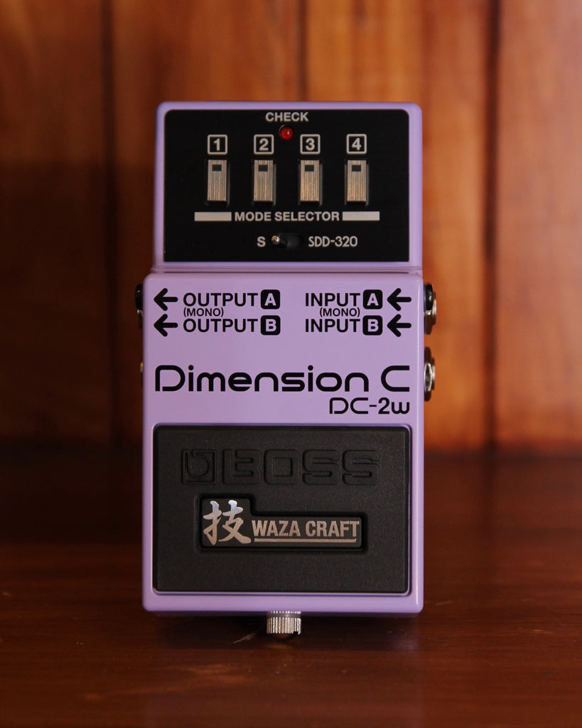 Boss DC-2W Dimension C Chorus Pedal Waza Craft