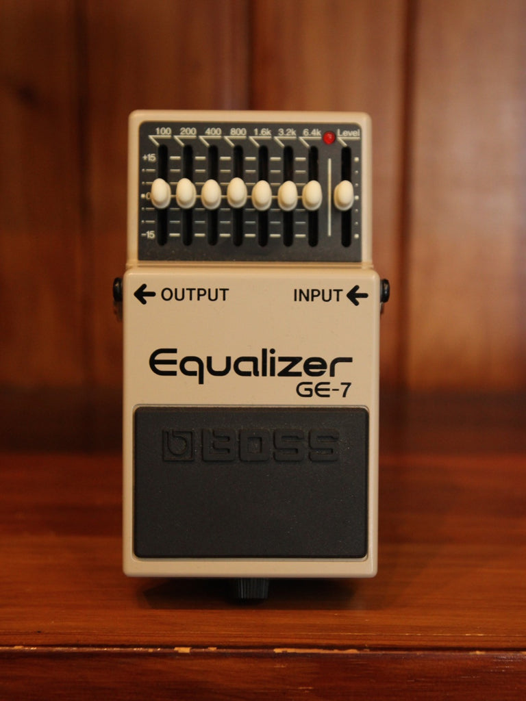 Boss GE-7 Equaliser Pedal - The Rock Inn