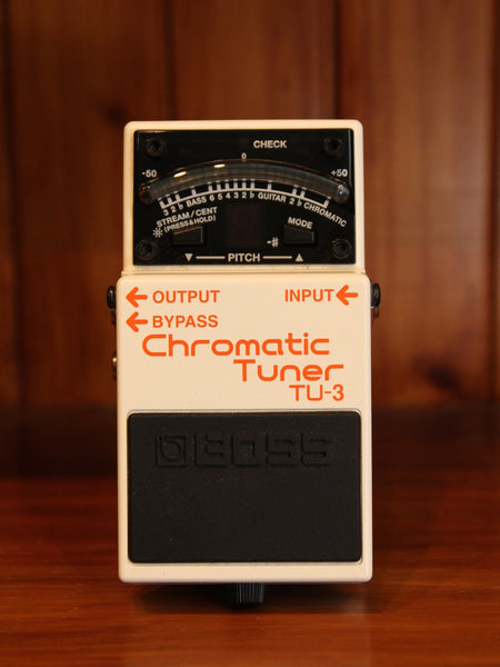 Boss TU-3 Chromatic Tuner Pedal - The Rock Inn
