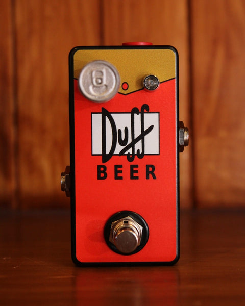 Gojira FX Simpsons Duff Beer Dark Version Silicon Bass Fuzz