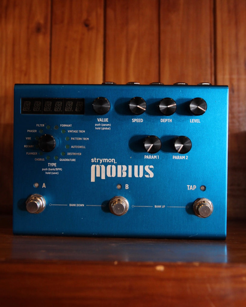Strymon Mobius Modulation Pedal Pre-Owned