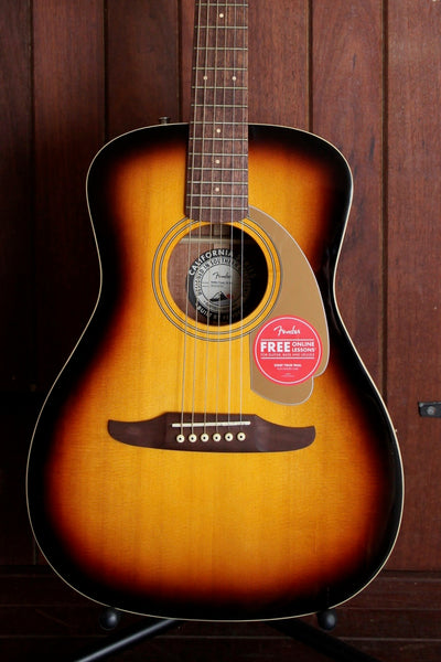Fender California Player Malibu Acoustic Guitar Sunburst