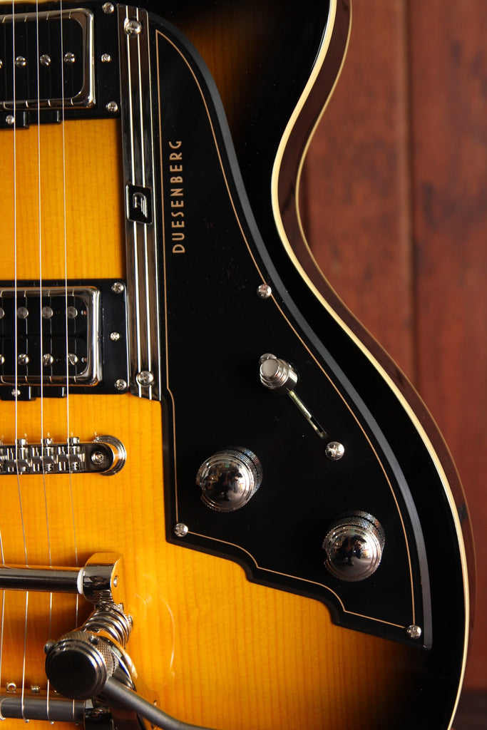 Duesenberg Starplayer TV Sunburst Semi-Hollow Guitar