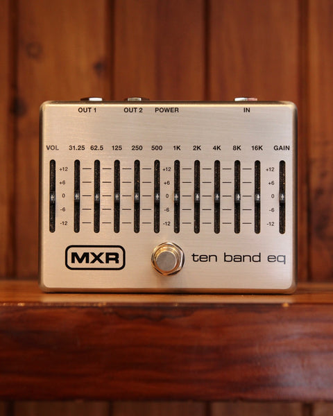 MXR M-108S 10-Band Graphic EQ Pedal