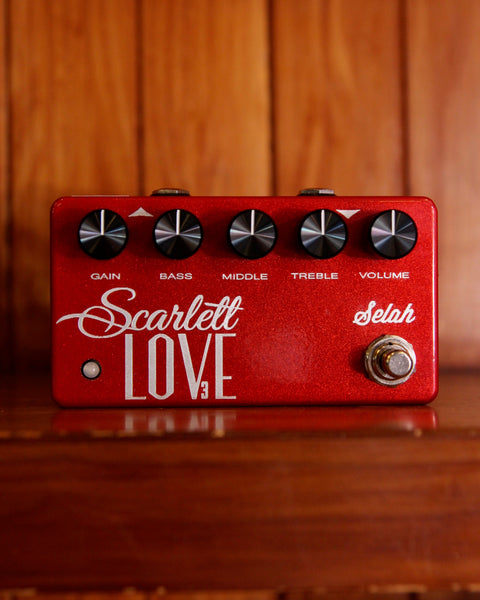 Selah Effects Scarlett Love Overdrive V3 Drive Pedal Pre-owned
