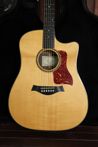 Taylor 710ce Rosewood Dreadnought Pre-Owned - The Rock Inn - 1