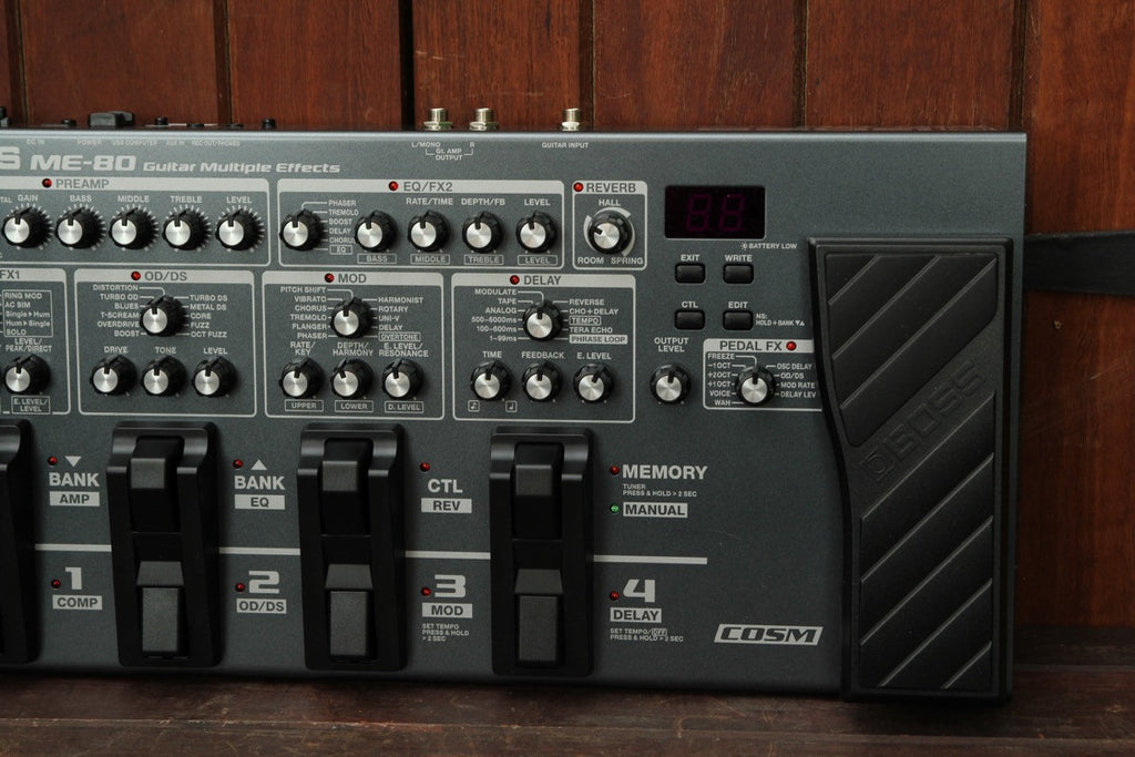 Boss ME-80 Multi-Effects Pedal - The Rock Inn