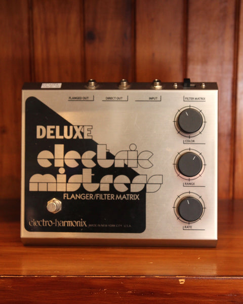 Electro Harmonix Deluxe Electric Mistress Flanger Pedal Pre-Owned