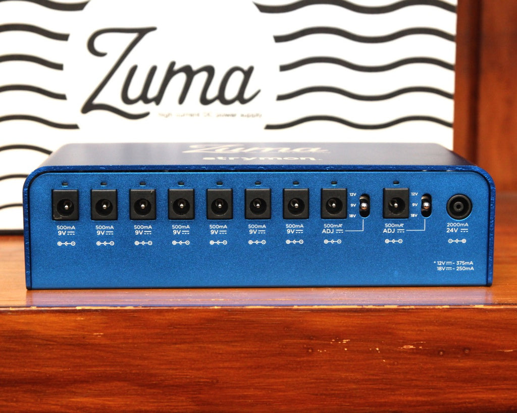Strymon Zuma Compact High Current Pedal Power Supply - The Rock Inn
