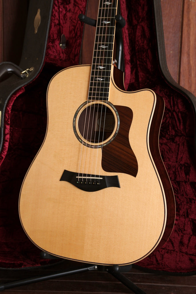 Taylor 810ce Dreadnought Acoustic-Electric Guitar Pre-Owned