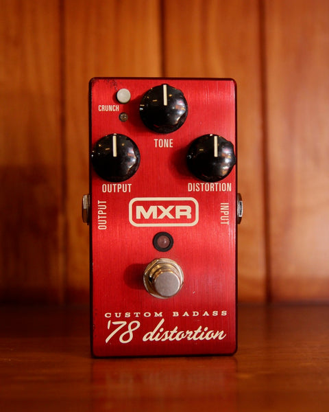 MXR Custom Badass '78 distortion pre-Owned