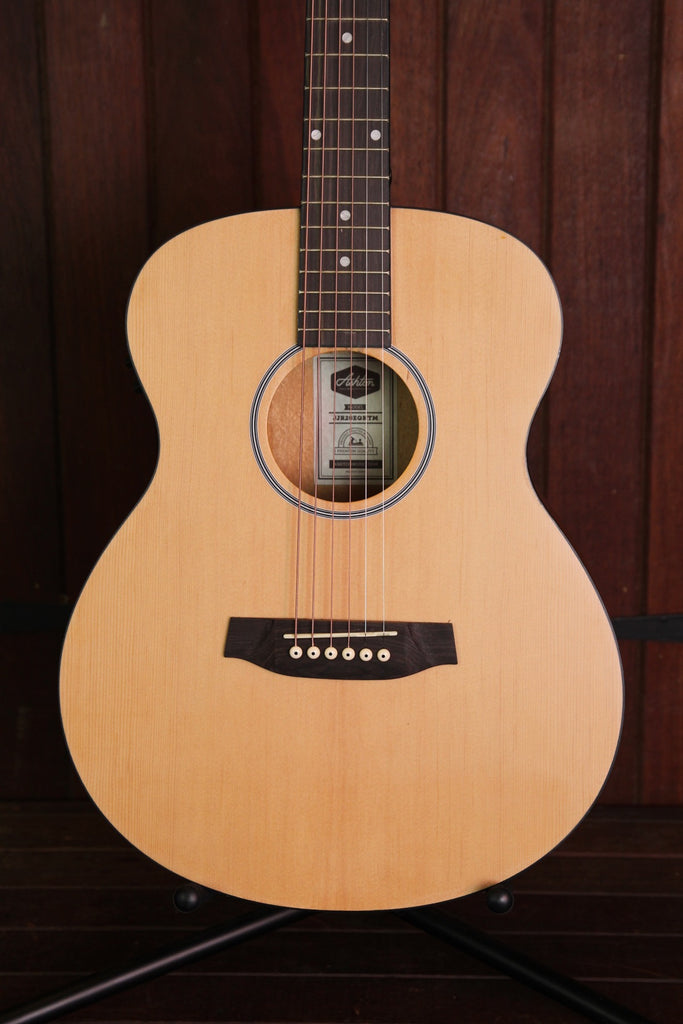 Ashton Junior Jumbo JJR20EQ Acoustic Guitar Natural