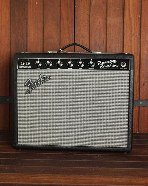"Fender '65 Princeton Reverb 15W 1x10"" Tube Guitar Amplifier Combo - The Rock Inn - 1"