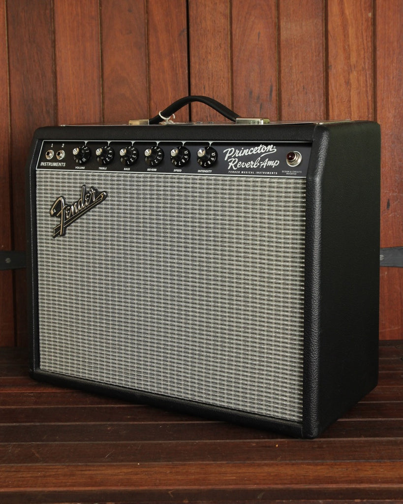 "Fender '65 Princeton Reverb 15W 1x10"" Tube Guitar Amplifier Combo - The Rock Inn"