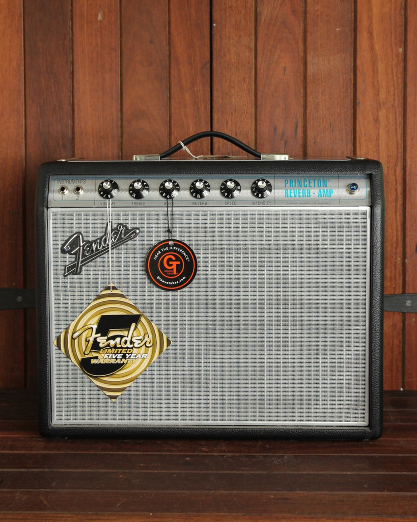 "Fender '68 Custom Princeton Reverb 1x10"" Valve Amplifier Combo - The Rock Inn - 1"