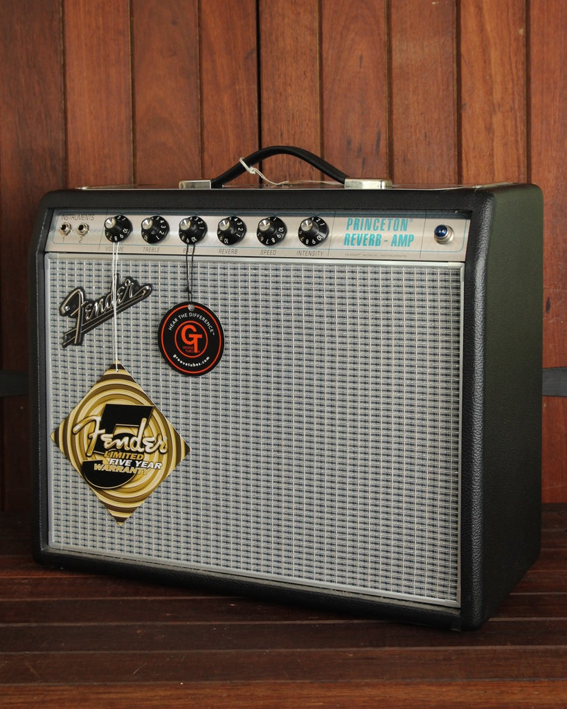 "Fender '68 Custom Princeton Reverb 1x10"" Valve Amplifier Combo - The Rock Inn"