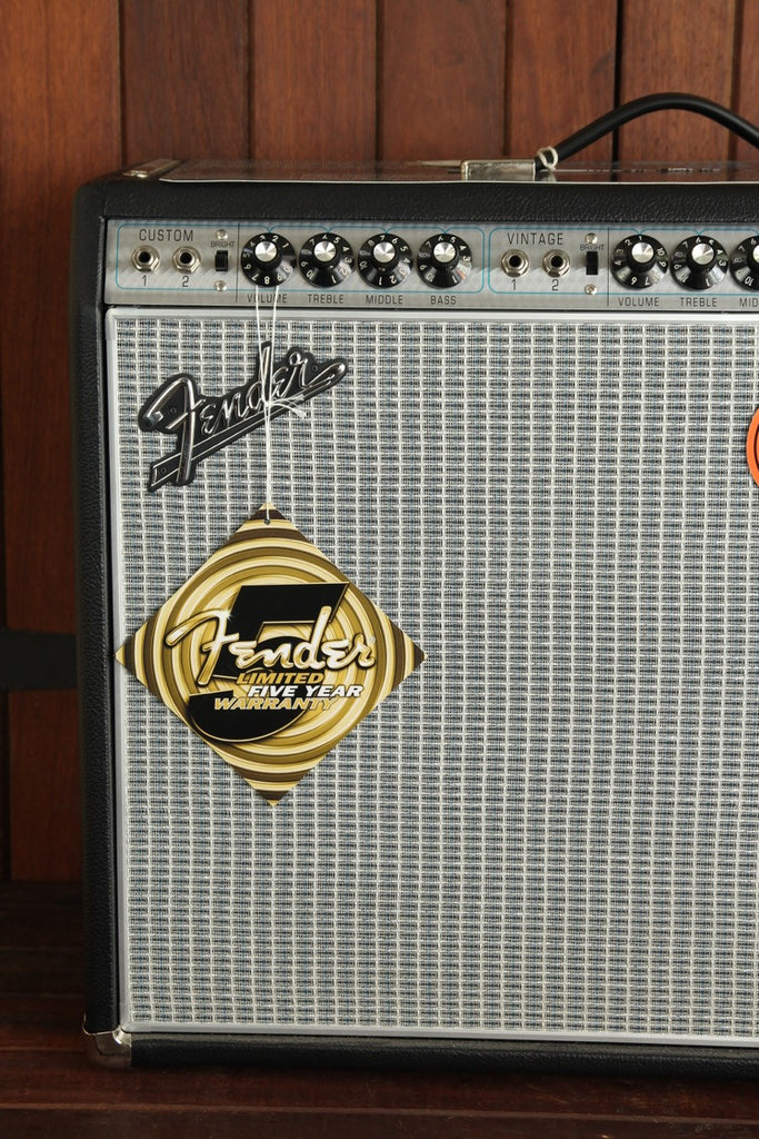 "Fender '68 Custom Twin Reverb 2x12"" Valve Amplifier - The Rock Inn"