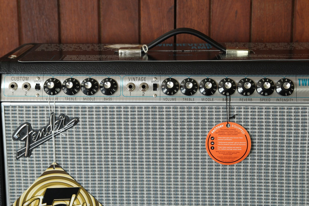 Fender '68 Custom Twin Reverb Amplifier - The Rock Inn - 3