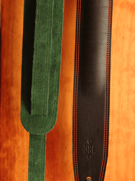 DSL 2.5″ Padded Garment Leather Strap - Made in Aus - The Rock Inn - 1