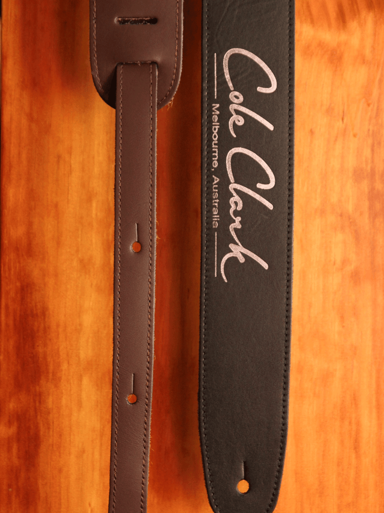 Cole Clark Leather Guitar Strap - The Rock Inn - 1