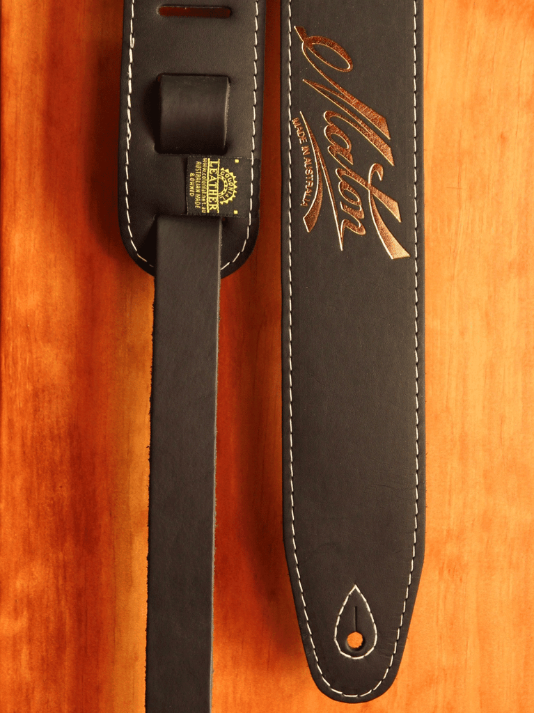 Maton Guitars Genuine Leather Guitar Strap - The Rock Inn - 1