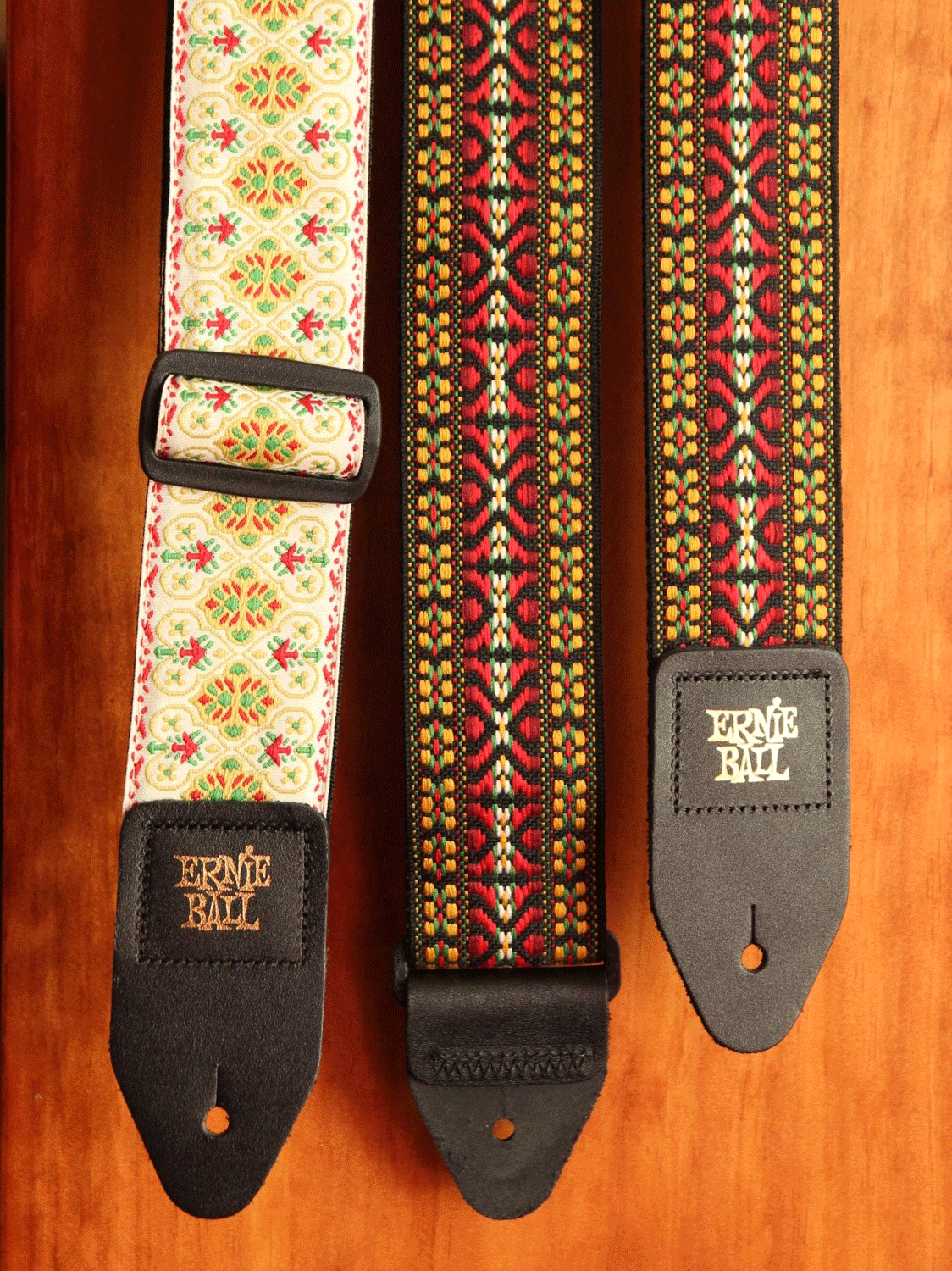 Ernie Ball Vintage Weave Jacquard Guitar Strap - The Rock Inn - 1