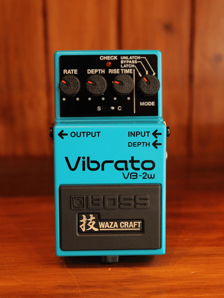 Boss VB-2w WAZA Craft Vibrato Pedal - The Rock Inn