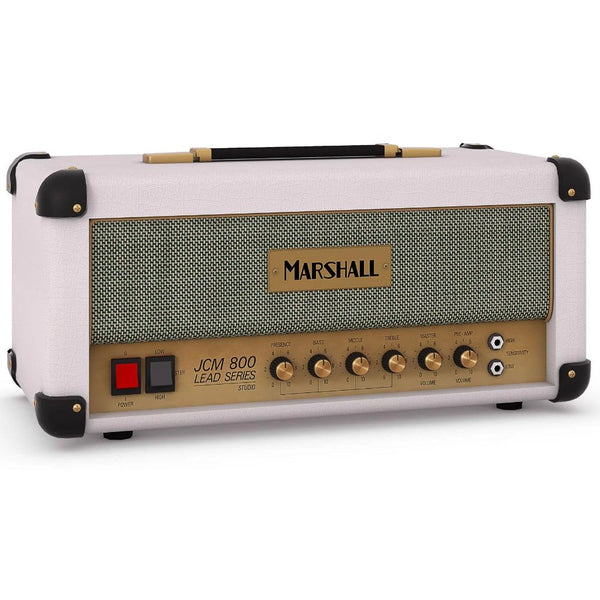 Marshall Studio Classic SC20H 20W Valve Guitar Amp Head (White Elephant Grain)