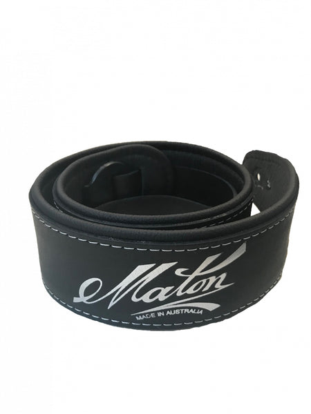 Maton Guitars Genuine Deluxe Leather Guitar Strap